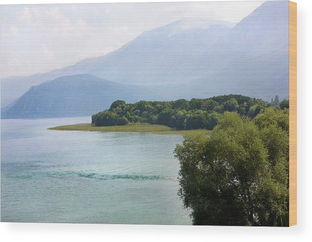 Mount Wood Print featuring the photograph Paradise 2 by Marjan Jankovic