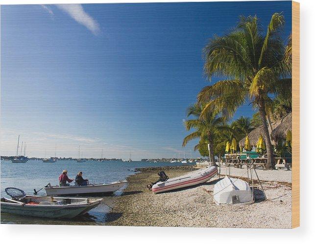 Marina Jacks Wood Print featuring the photograph Paradise by Michael Tesar