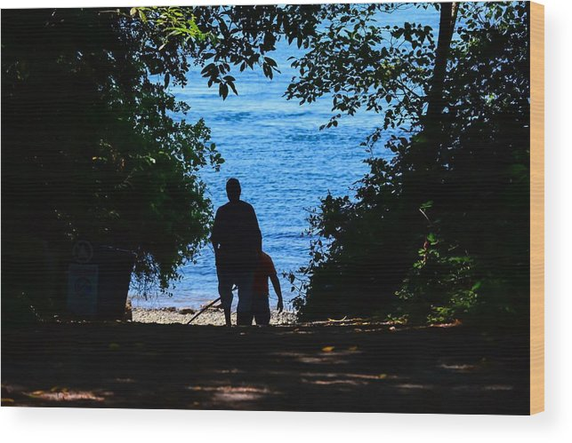 Pathway Wood Print featuring the photograph Path To Paradise by Frank Morris