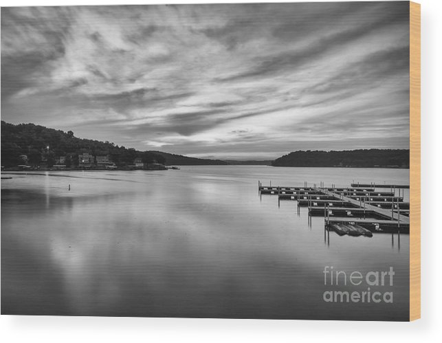 Lake Wood Print featuring the photograph Peaceful Morning by Dennis Hedberg