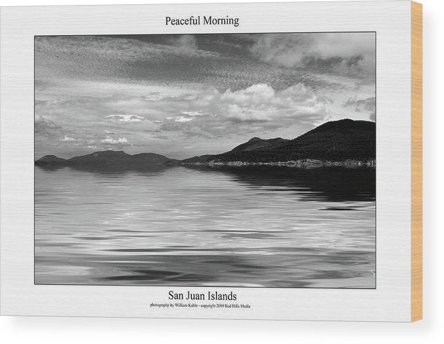 San Juan Photographs Wood Print featuring the photograph Peaceful Morning by William Jones