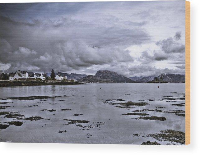 Scotland Wood Print featuring the photograph Plockton by Derek Beattie