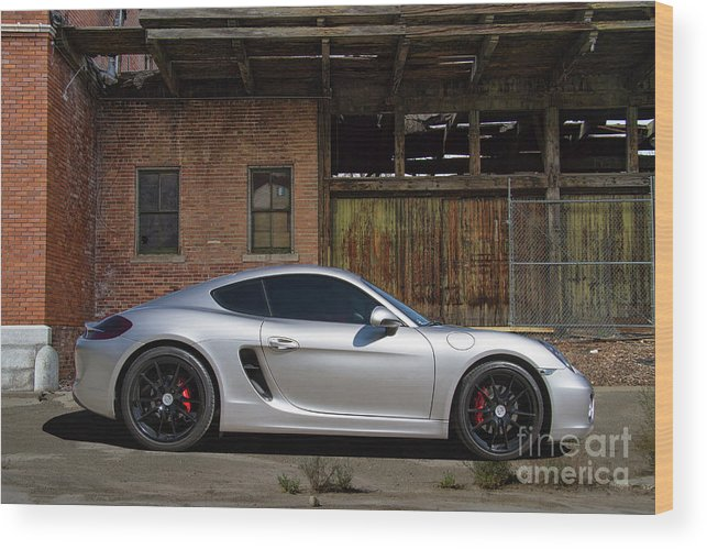 Porsche Wood Print featuring the photograph Porsche Need For Speed by Nick Gray