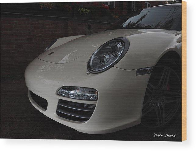 Porsche Wood Print featuring the photograph Porsche On Canyon Road by Dale Davis