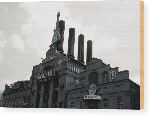 Baltimore Wood Print featuring the photograph Power Plant by Christine Burrell