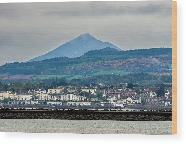 Sea Point Wood Print featuring the photograph Sea Point And Sugar Loaf Mountain by Philip Mulhall