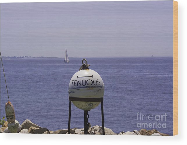 Buoy Wood Print featuring the photograph Seaside by Joe Geraci