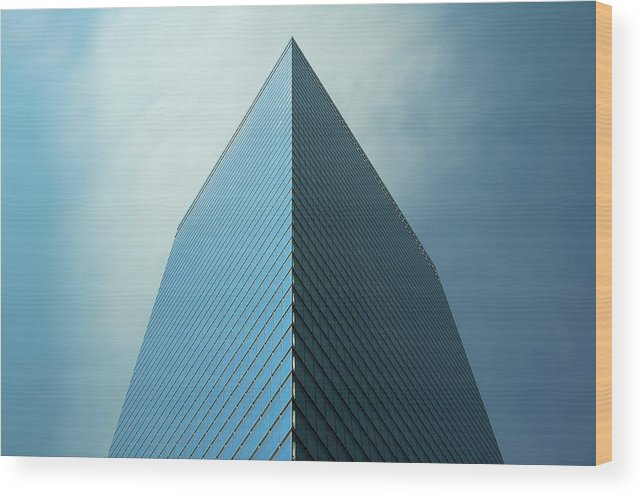 Seven World Trade Wood Print featuring the photograph Seven World Trade by Mandy Wiltse