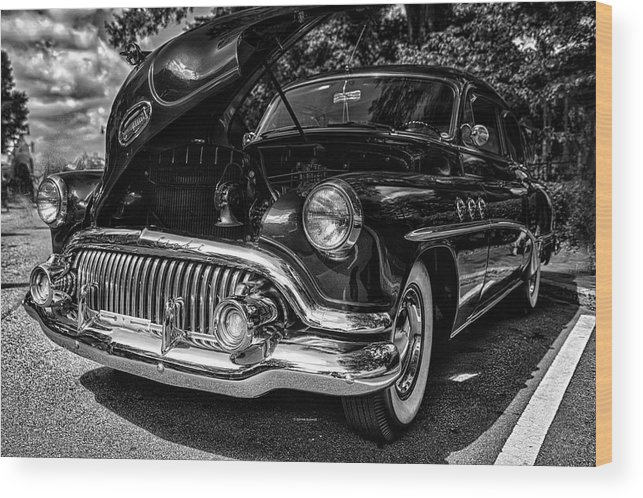 Buick Wood Print featuring the photograph Shine by Dennis Baswell