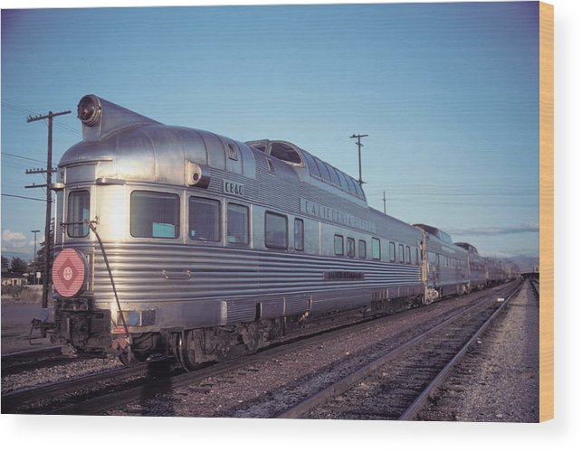 Observation Wood Print featuring the photograph Silver Solarium Bakersfield California by Brian Lockett