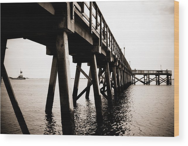 Pier Wood Print featuring the photograph Southport Pier by Mandy Willis
