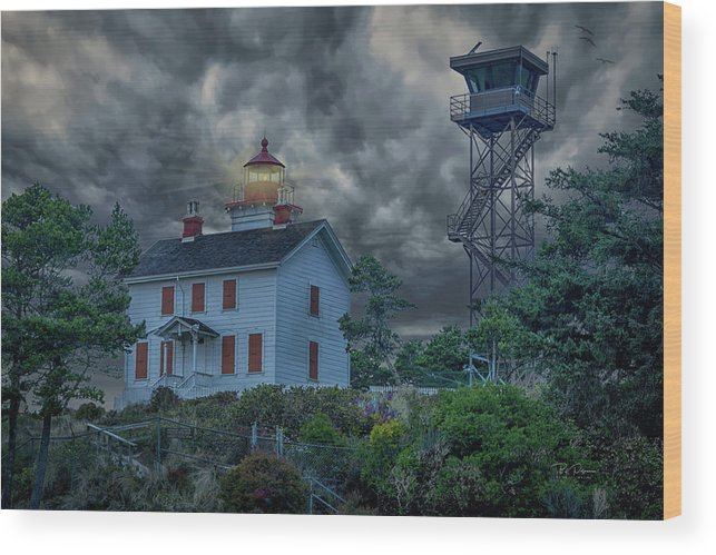 Storms Wood Print featuring the photograph Storm Watch by Bill Posner