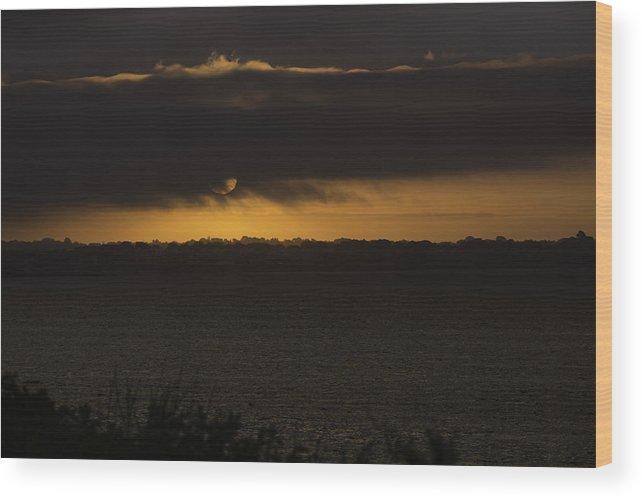 Sunrise Wood Print featuring the photograph Sunrise by Billy Bateman