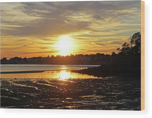 Sunset over Lynch Park Beverly MA by Toby McGuire