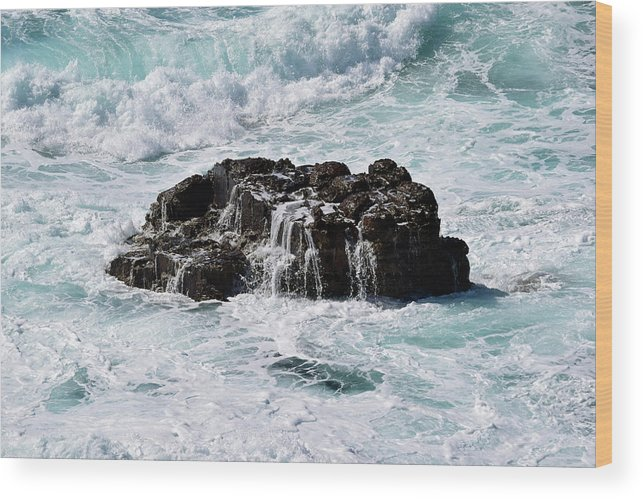 Surf Wood Print featuring the photograph Surf No. 134-1 by Sandy Taylor