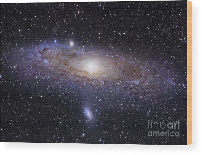 Andromeda Wood Print featuring the photograph The Andromeda Galaxy by Robert Gendler