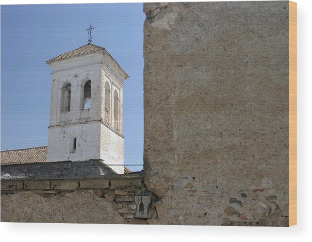 Photographer Wood Print featuring the photograph The Bells Have Stopped Ringing by Jez C Self