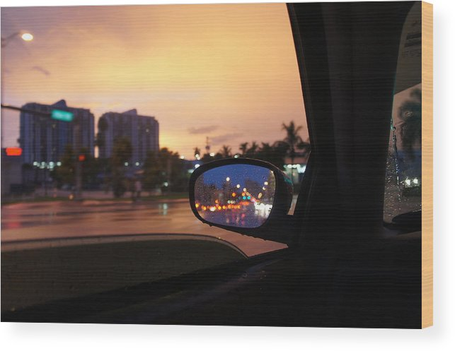 Colorful Photograph Wood Print featuring the photograph The Cruiz by Jaron R