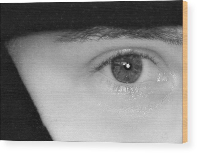 Eyes Wood Print featuring the photograph The Eyes Have It by Christine Till