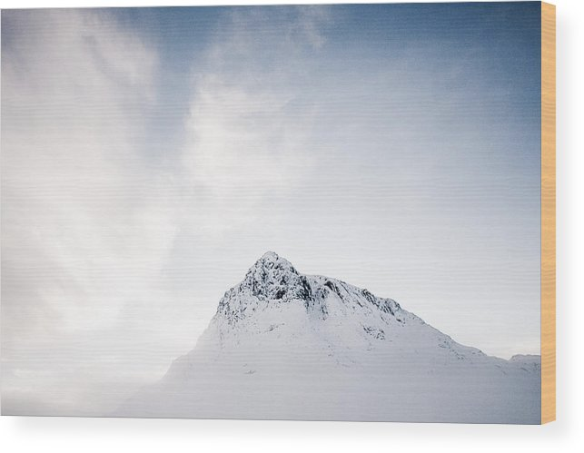 Buachaille Etive Mor Wood Print featuring the photograph The Great Herdsman #2 by Kate Morton