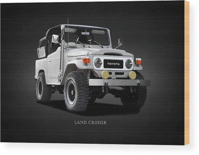 Land Cruiser Bj40 Wood Print featuring the photograph The Land Cruiser by Mark Rogan