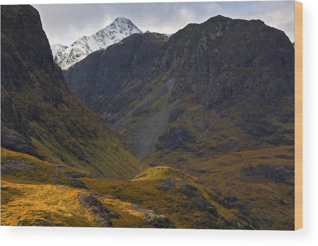 Scotland Wood Print featuring the photograph The Lost Valley Glencoe by John McKinlay