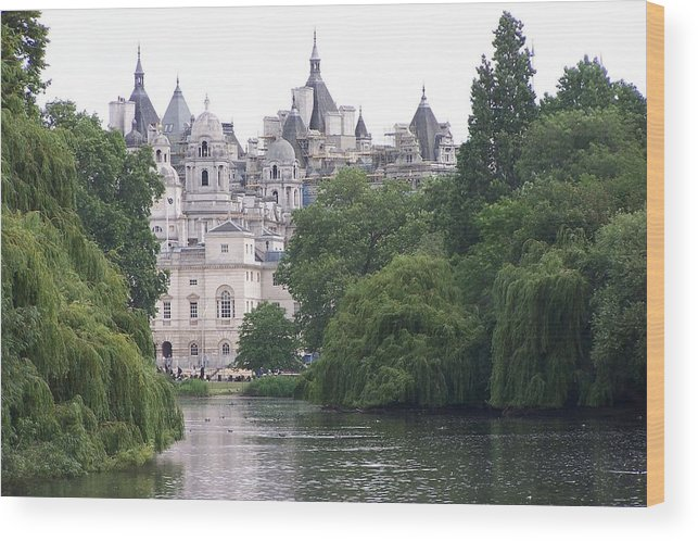 Landscape Wood Print featuring the photograph The Princess Castle by Chuck Shafer