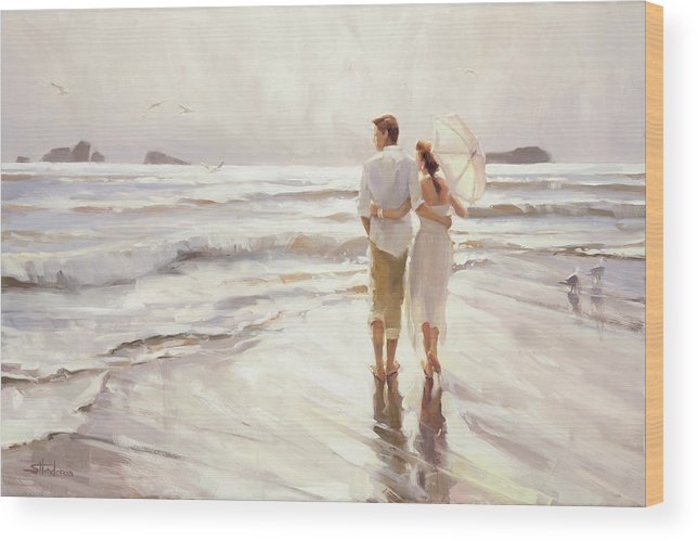 Love Wood Print featuring the painting The Way That It Should Be by Steve Henderson