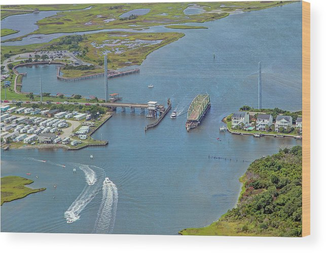 Topsail Wood Print featuring the photograph Topsail Island Top Of The Hour by Betsy Knapp