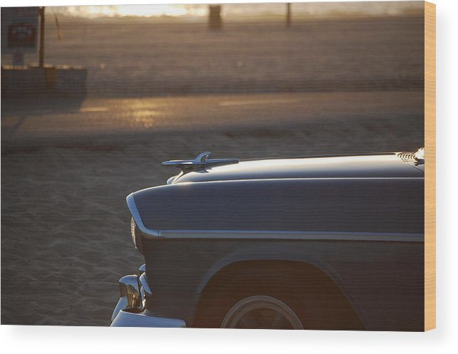 Automotive Wood Print featuring the photograph Untitled by William Lorton