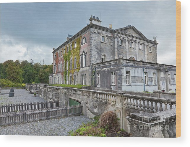 Westport House Wood Print featuring the photograph Westport House by Gabriela Insuratelu