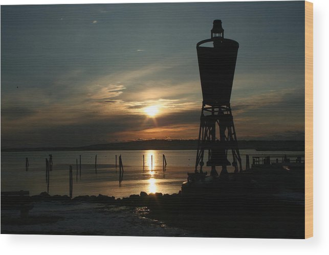 Landscape Wood Print featuring the photograph Winter Dawn by Doug Mills