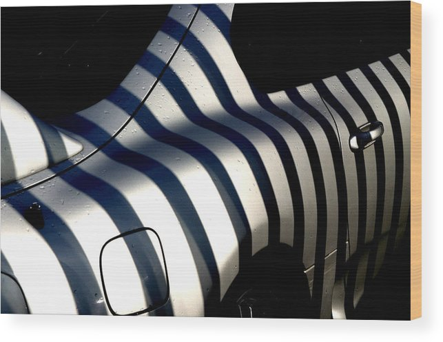 Jez C Self Wood Print featuring the photograph Zebra Motors by Jez C Self