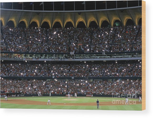 Season Wood Print featuring the photograph Mark Mcgwire 25 by Vincent Laforet