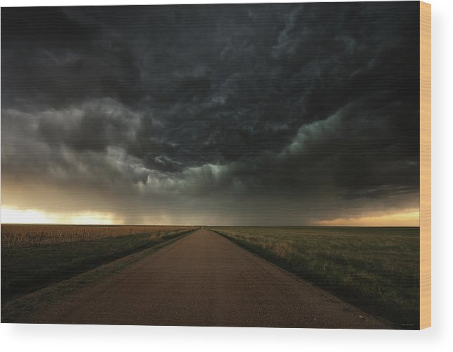 Desolation Wood Print featuring the photograph Desolation Road by Brian Gustafson