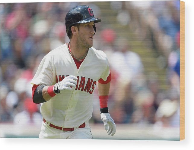 Second Inning Wood Print featuring the photograph Yan Gomes by Jason Miller