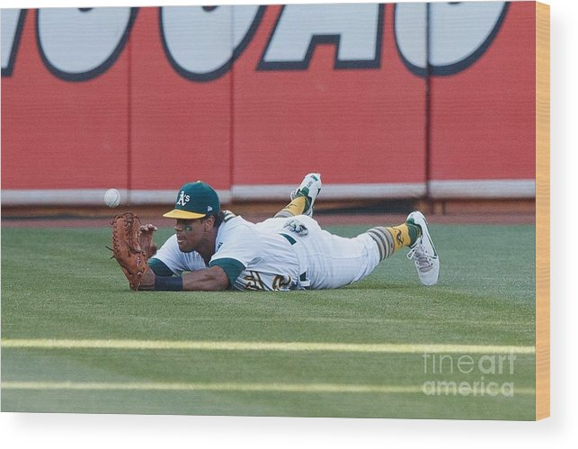 People Wood Print featuring the photograph Khris Davis And George Springer by Jason O. Watson