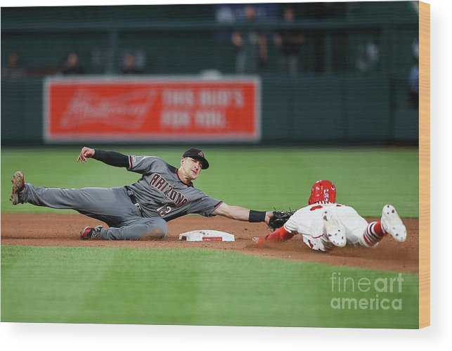 People Wood Print featuring the photograph Nick Ahmed by Scott Kane