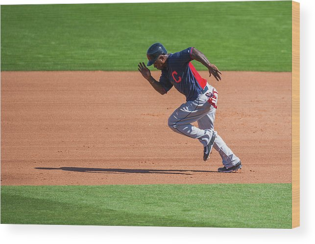 Cleveland Indians Wood Print featuring the photograph Red Morgan by Rob Tringali