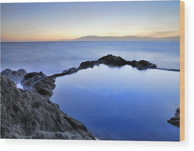 Water Wood Print featuring the photograph Cabo De Gata by Guido Montanes Castillo