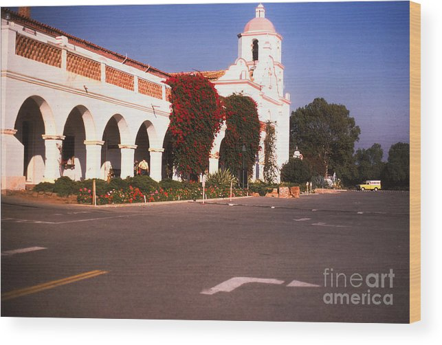 Landscape Wood Print featuring the photograph 893 Sl San Luis Rey 3 by Chris Berry