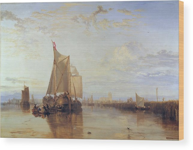 1818 Wood Print featuring the painting Dort Or Dordrecht by JMW Turner