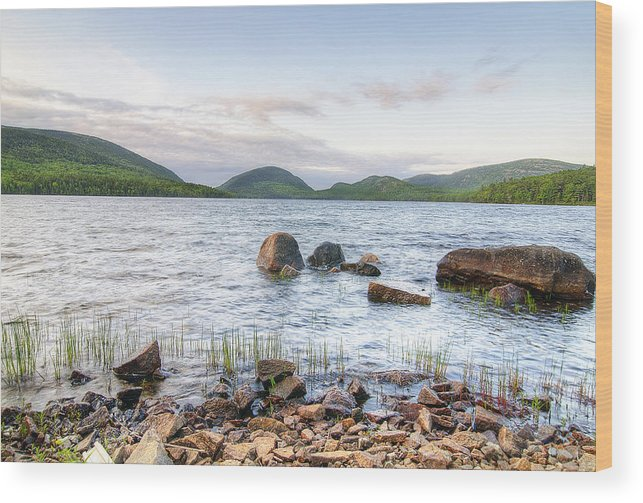 Eagle Lake Wood Print featuring the photograph Eagle Lake by Donna Doherty
