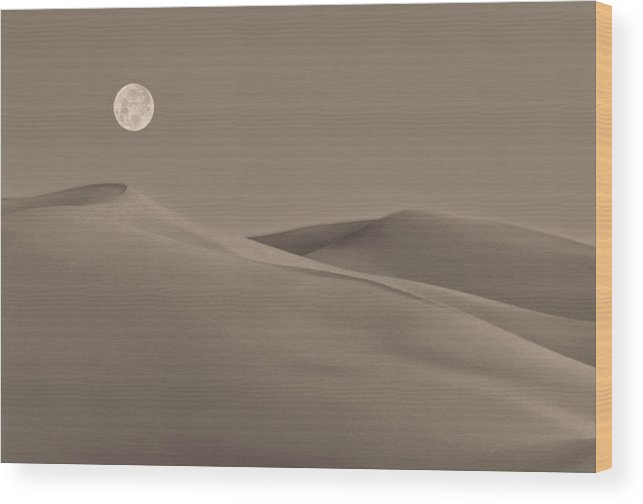 Great Sand Dunes Colorado Wood Print featuring the photograph Great Sand Dunes by Don Spenner