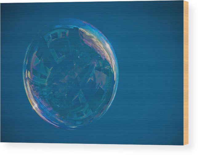 Poetic Wood Print featuring the photograph Sphere Of Influence by Tyler Blodgett