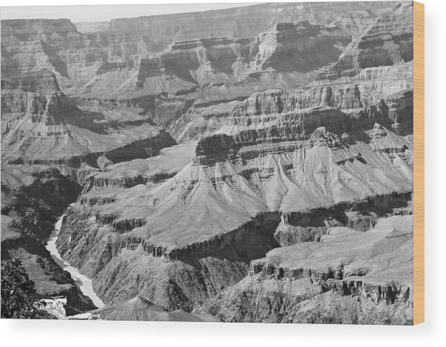 Landscape Wood Print featuring the photograph National Wonder by Rusty Kidder