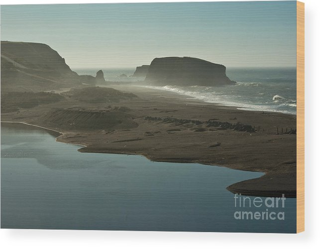 Sonoma County Wood Print featuring the photograph Sonoma Coast 1.7070 by Stephen Parker