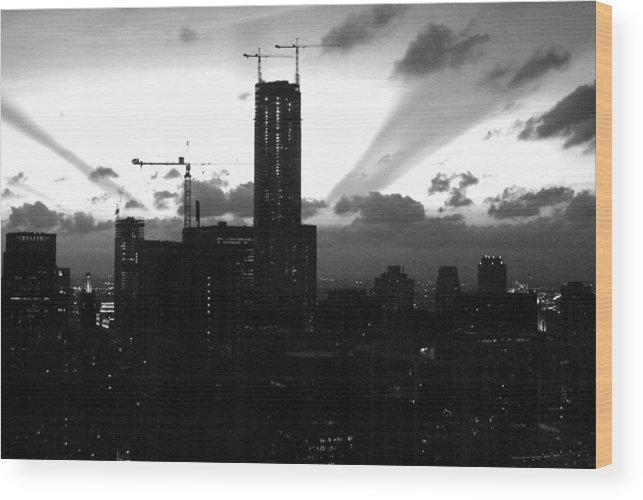 Building Wood Print featuring the photograph Structural Grandeur by Gregory Lafferty