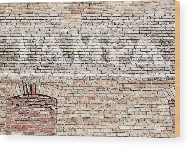 Wall Wood Print featuring the photograph Tampa by Ramunas Bruzas