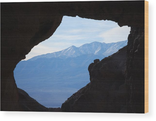 Golden Canyon Wood Print featuring the photograph Window Of The West by Pamela Schreckengost